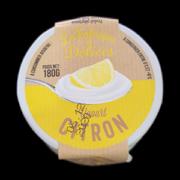 Yaourt citron au lait frais du jour (180g)