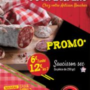 Saucissons secs - Promotion - 12€ les 3